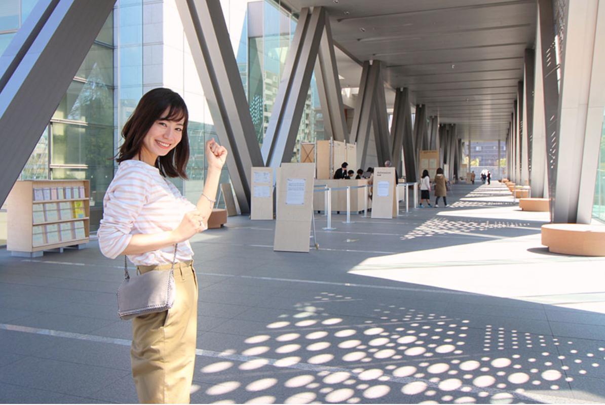 伊藤沙織がLet's enjoy tokyoで東京現代美術館を紹介しています🎨