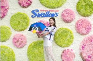 中島絢乃がLet's enjoy tokyo「SWALLOWS LADIES DAY 2019」紹介記事に出演中です⚾️
