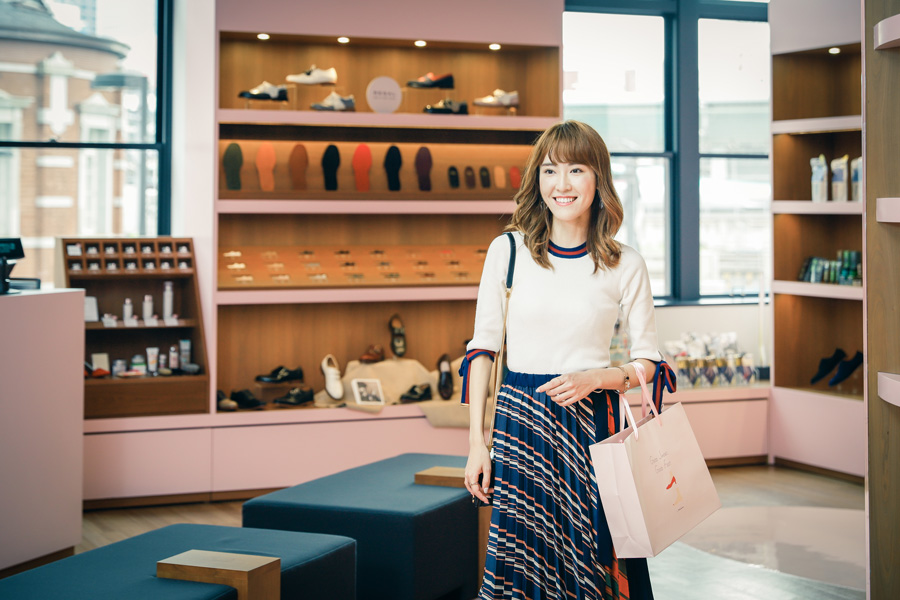 高橋晴香がLet's enjoy tokyoで足の専門店 「Good Shoes, Good Foot. by REGAL」を紹介しています👠✨