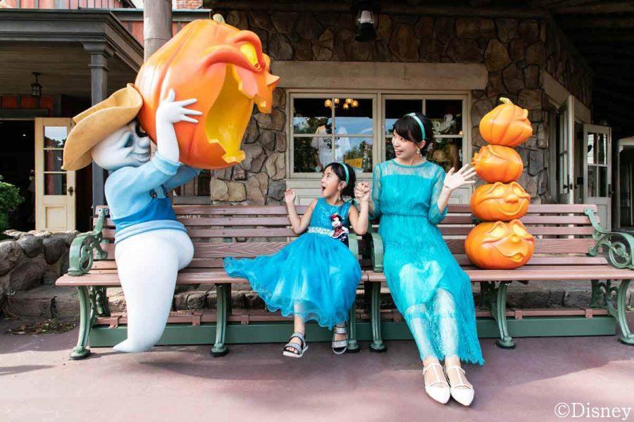 大谷朋子、原田あかね、筧沙奈恵がtendでディズニーハロウィン親子コーデを紹介しています🐭🏰