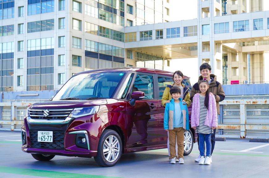 藤川奈緒親子/Naoaki 「Let's Enjoy Tokyo」でSUZUKIの車を紹介しています🚙